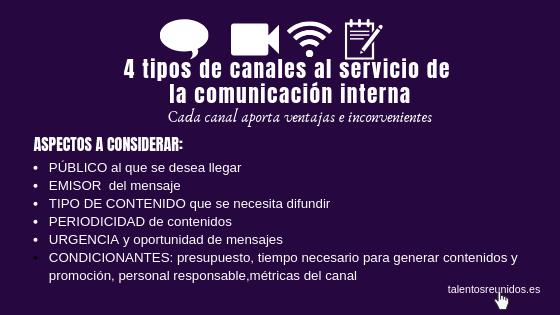 canales de comunicación eficaces