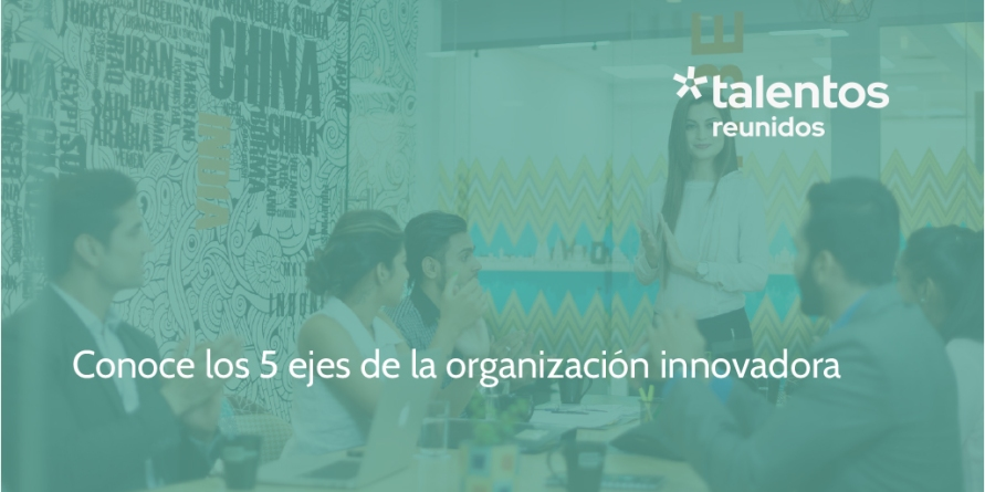 5 ejes de la organización innovadora