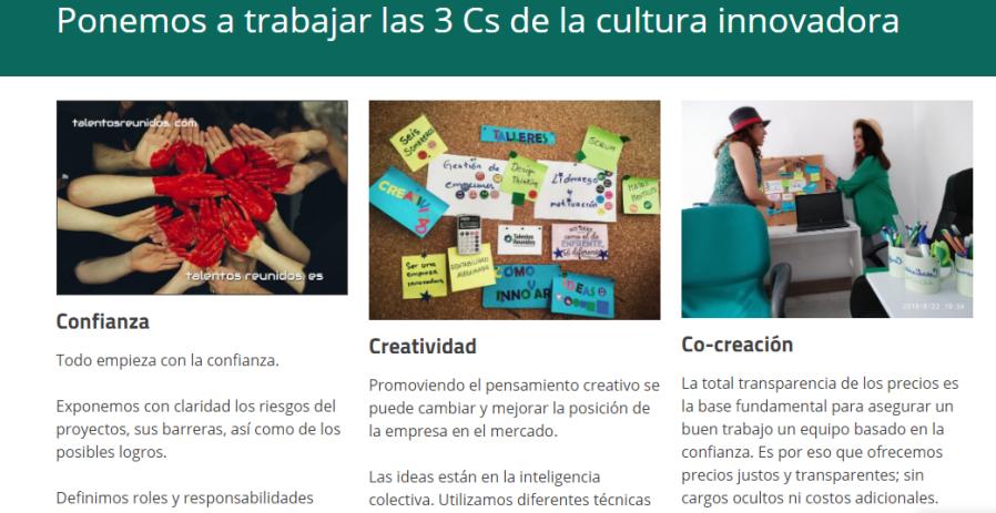 proceso cultura innovadora